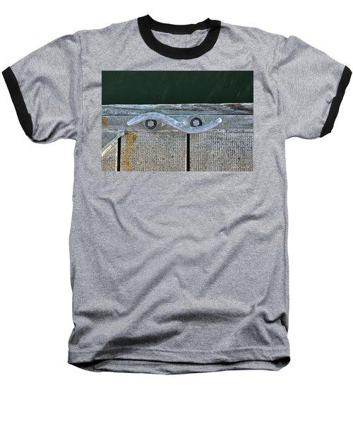Cleat On A Dock Baseball T-Shirt