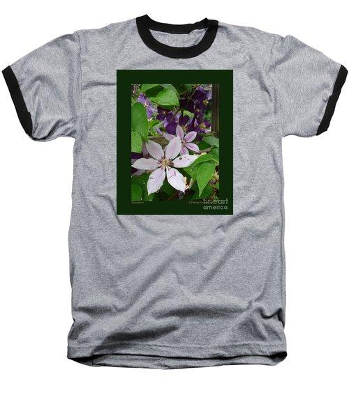 Clematis-ii Baseball T-Shirt