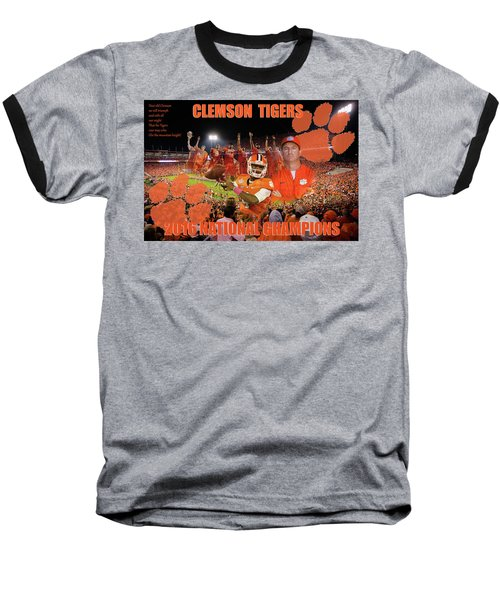 Clemson National Champs Baseball T-Shirt