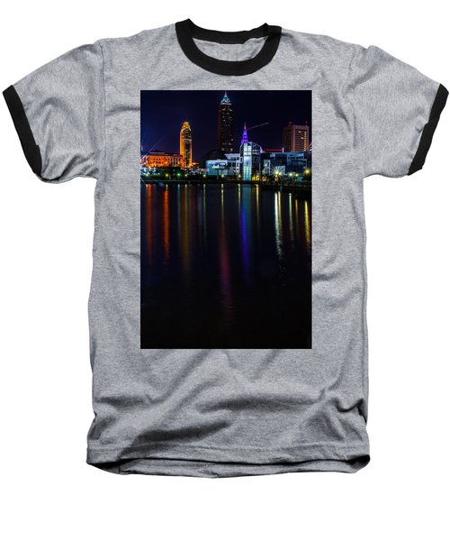 Cleveland Nightly Reflections Baseball T-Shirt