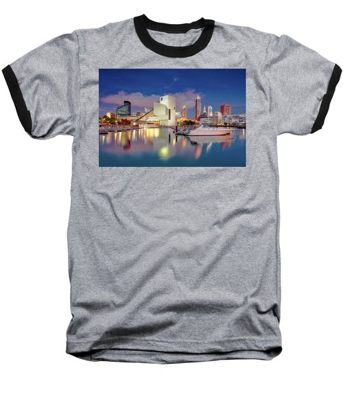 Baseball T-Shirt featuring the photograph Cleveland Ohio 2  by Emmanuel Panagiotakis