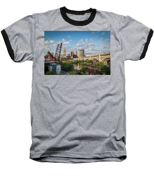 Cleveland Skyline Vista Baseball T-Shirt