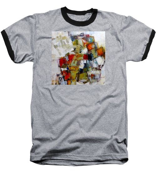 Baseball T-Shirt featuring the painting Clever Clogs by Katie Black