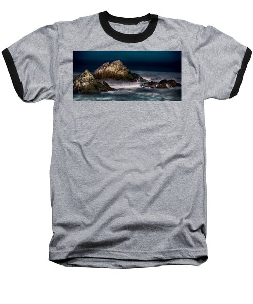 Baseball T-Shirt featuring the photograph Cliff House San Francisco Seal Rock by Steve Siri