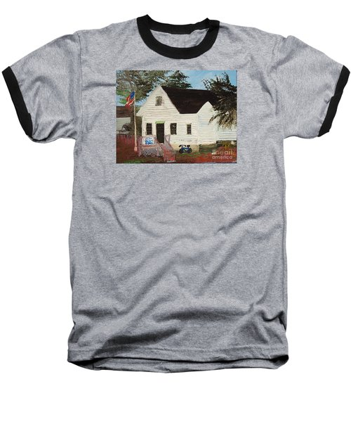 Cliff Island School Baseball T-Shirt