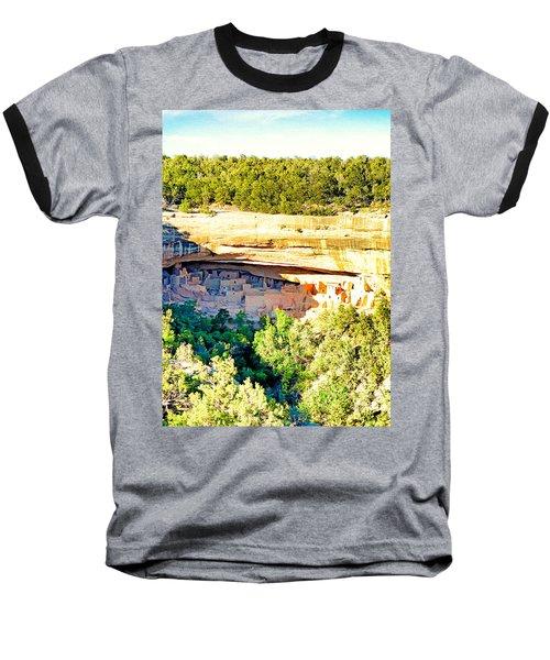Cliff Palace Study 1 Baseball T-Shirt
