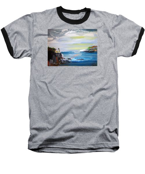 Cliffs By Colleen Ranney Baseball T-Shirt