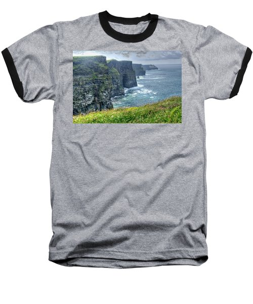 Baseball T-Shirt featuring the photograph Cliffs Of Moher by Alan Toepfer