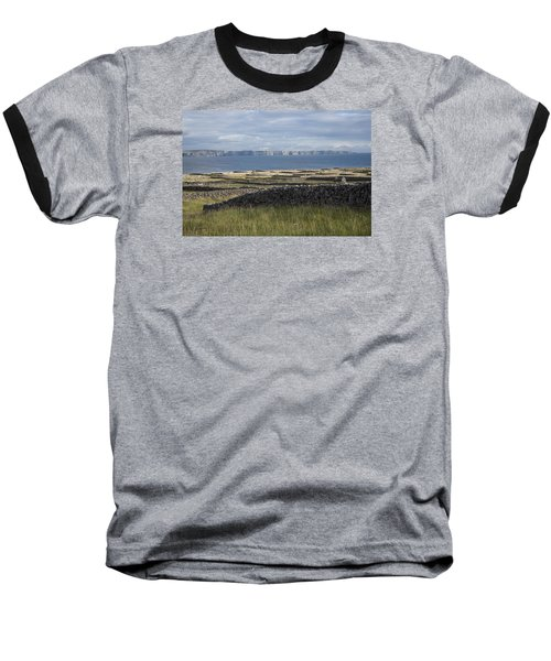Cliffs Of Moher From Inisheer Baseball T-Shirt