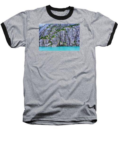 Cliffs Of The Inside Passage Baseball T-Shirt by Lewis Mann