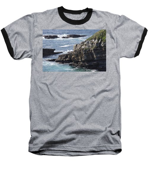 Cliffs Overlooking Donegal Bay Baseball T-Shirt