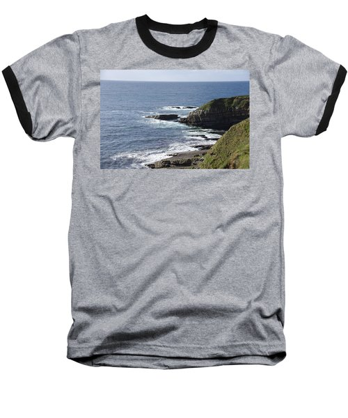 Cliffs Overlooking Donegal Bay II Baseball T-Shirt by Greg Graham