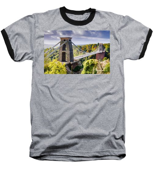 Clifton Suspension Bridge Baseball T-Shirt