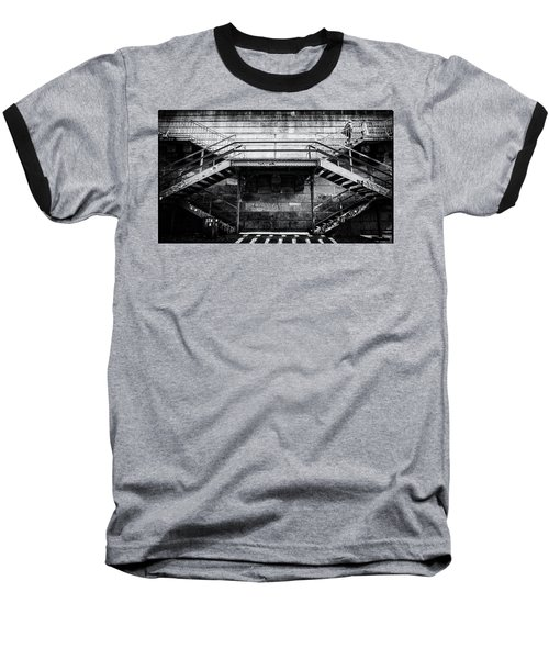 Climb The Stairs Baseball T-Shirt
