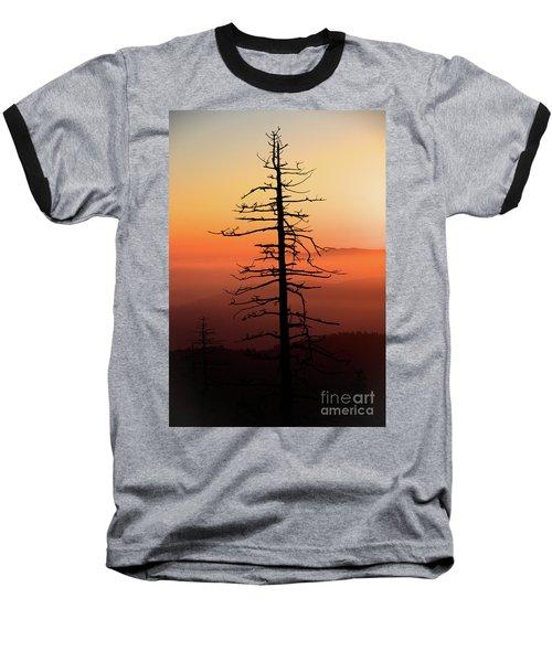Baseball T-Shirt featuring the photograph Clingman's Dome Sunrise by Douglas Stucky