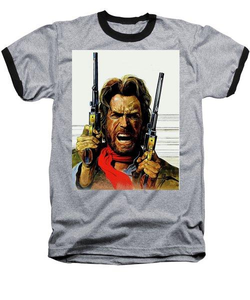 Clint Eastwood As Josey Wales Baseball T-Shirt
