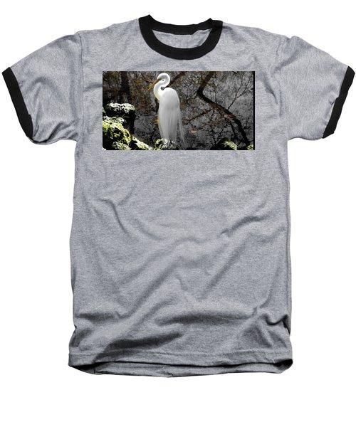 Cloaked Baseball T-Shirt by Judy Wanamaker