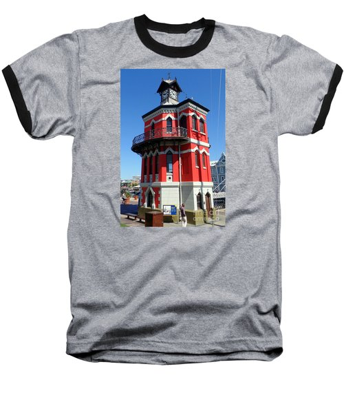 Clock Tower Cape Town Baseball T-Shirt