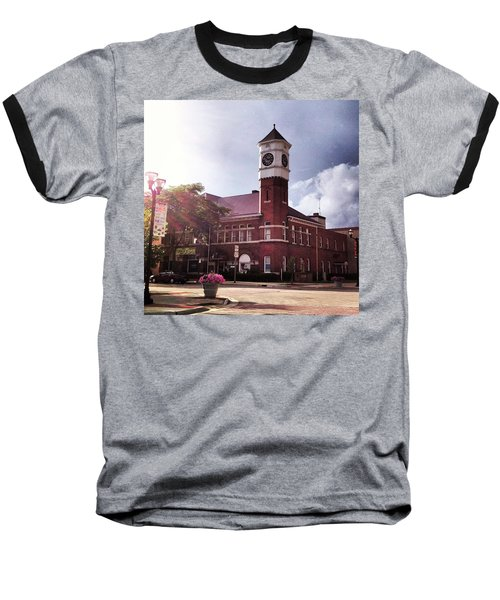 Clocktower Sunshine Baseball T-Shirt