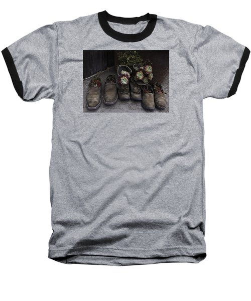 Baseball T-Shirt featuring the photograph Clodhoppers by Kandy Hurley