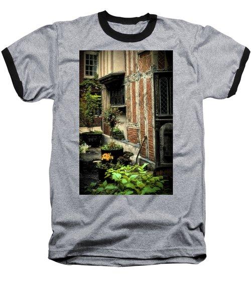Cloister Garden - Cirencester, England Baseball T-Shirt