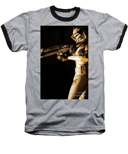 Baseball T-Shirt featuring the photograph Clone Trooper 6  by Micah May