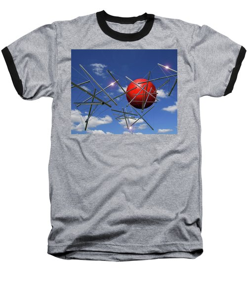 Baseball T-Shirt featuring the photograph Close Encounters by Christopher McKenzie