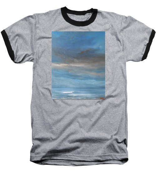 Baseball T-Shirt featuring the painting Close Of Day by Jane See