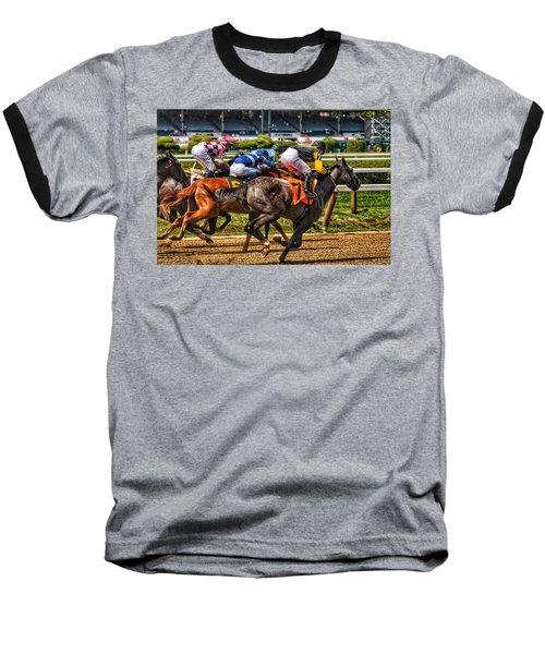 Close Running Baseball T-Shirt