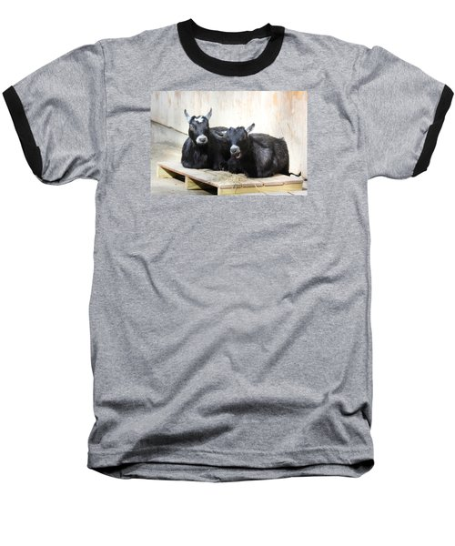 Baseball T-Shirt featuring the photograph Close To You by Trina  Ansel