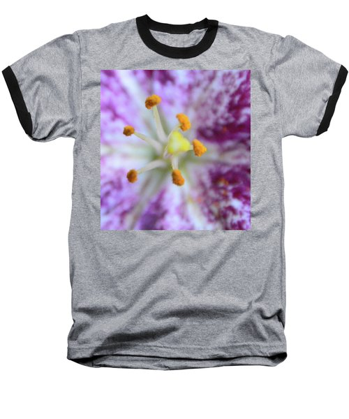 Close Up Flower Baseball T-Shirt