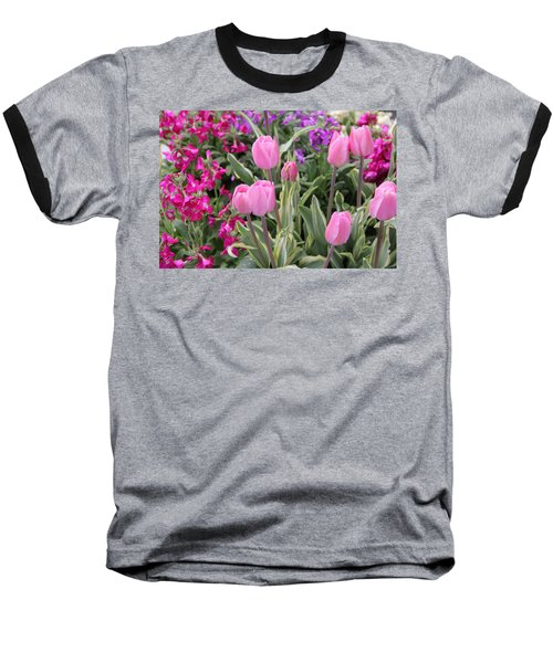 Close Up Mixed Planter Baseball T-Shirt