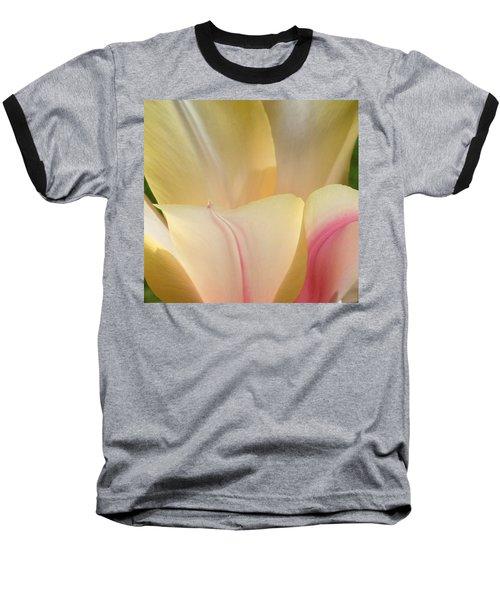 Close-up Tulip Baseball T-Shirt by Karen Molenaar Terrell