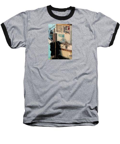 Baseball T-Shirt featuring the photograph Closed For Christmas by Joe Jake Pratt