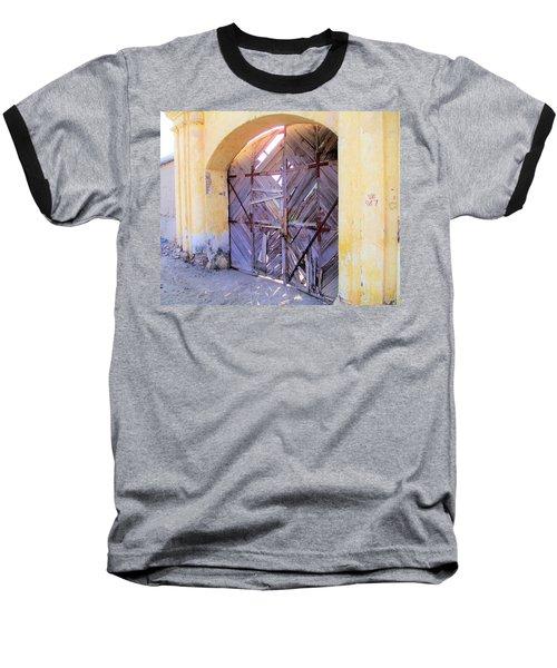 Closed, Permanently. Baseball T-Shirt