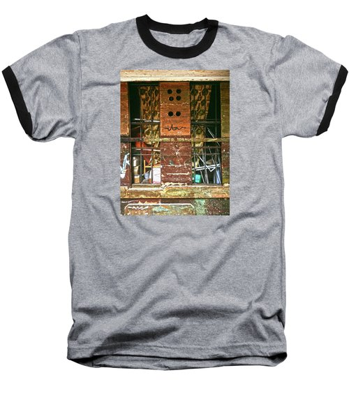 Baseball T-Shirt featuring the photograph Closed Up by Anne Kotan