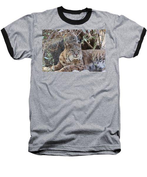 Closeup Of Bobcat Baseball T-Shirt