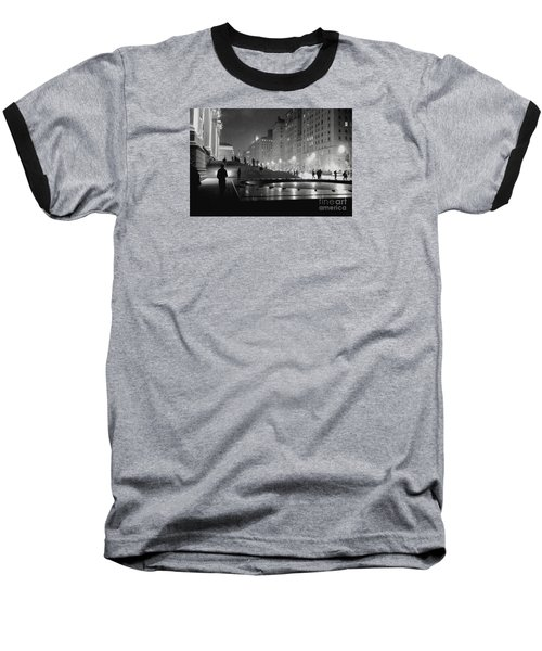 Baseball T-Shirt featuring the photograph Closing At The Met by Sandy Moulder