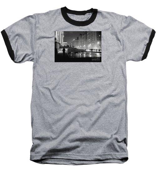 Closing At The Met Baseball T-Shirt