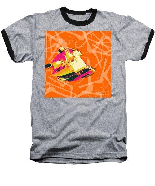 Baseball T-Shirt featuring the digital art Flat Iron  by Jean luc Comperat
