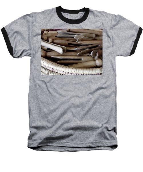 Clothes-pins Baseball T-Shirt