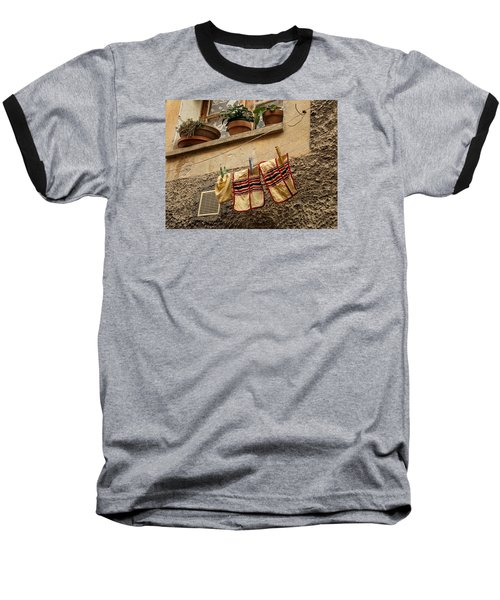 Clothesline In Biot Baseball T-Shirt
