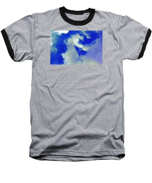 Cloud 1 Baseball T-Shirt by M Diane Bonaparte