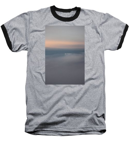 Cloud Abstract II Baseball T-Shirt by Suzanne Gaff