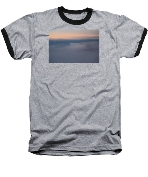 Cloud Abstract  Baseball T-Shirt by Suzanne Gaff