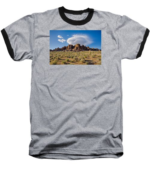 Cloud And Rocks Baseball T-Shirt