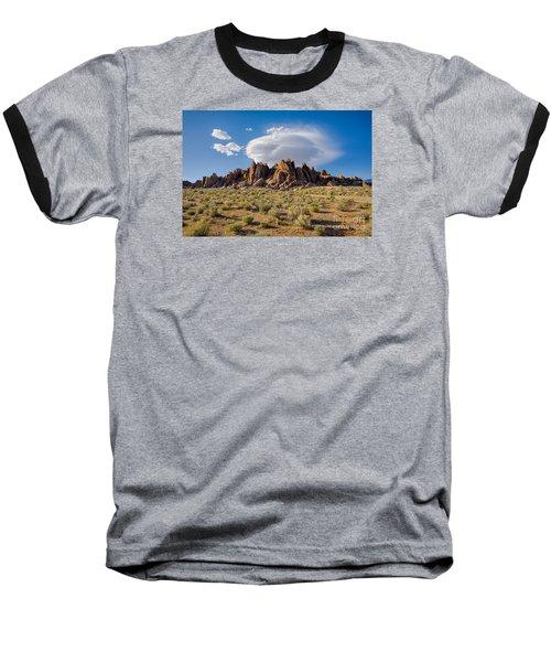 Cloud And Rocks Baseball T-Shirt