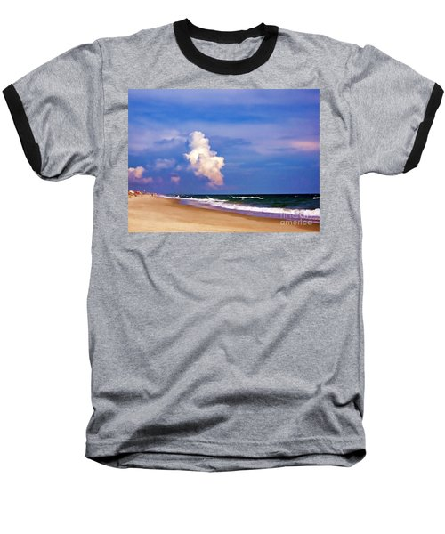 Baseball T-Shirt featuring the photograph Cloud Approaching by Roberta Byram