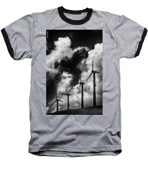 Cloud Blowers Baseball T-Shirt