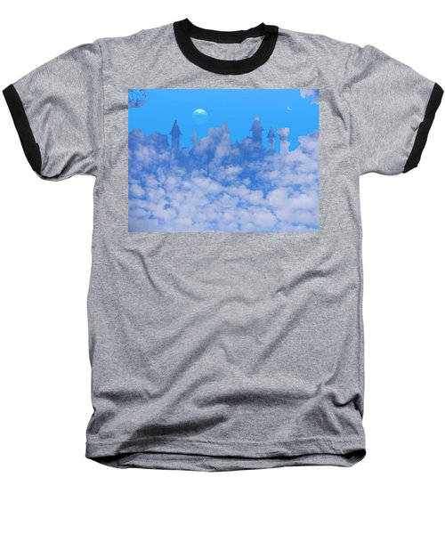 Cloud Castle Baseball T-Shirt